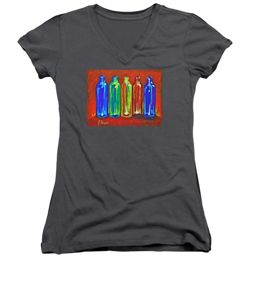 Diverse Individuality Women's V-Neck T-Shirt