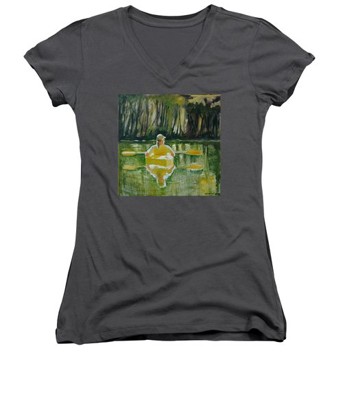 Dix River Redux Women's V-Neck (Athletic Fit)