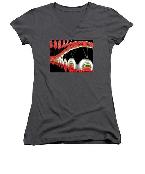 DNA Women's V-Neck T-Shirt