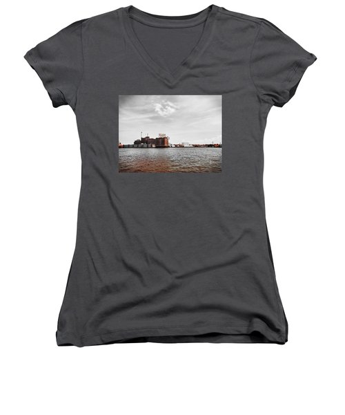 Domino Sugar Women's V-Neck