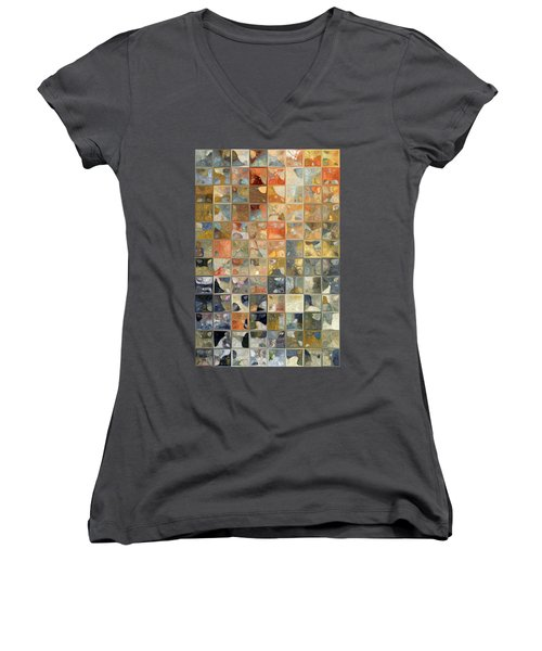 Don't Dream It's Over Women's V-Neck T-Shirt (Junior Cut) by Mark Lawrence
