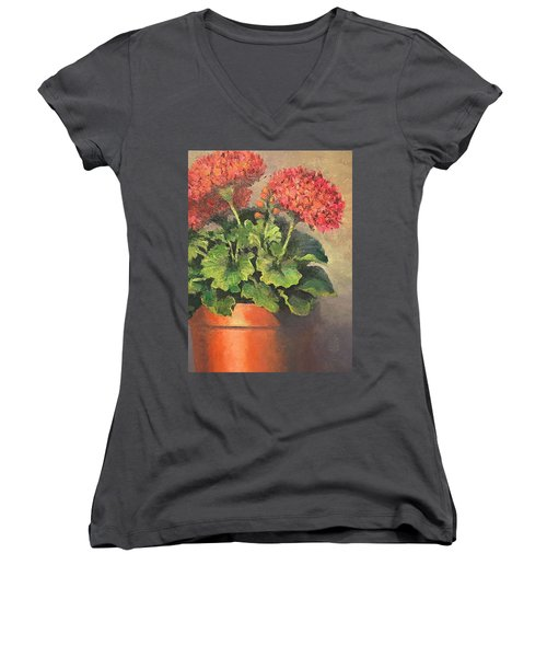 Don't Forget To Water Women's V-Neck (Athletic Fit)