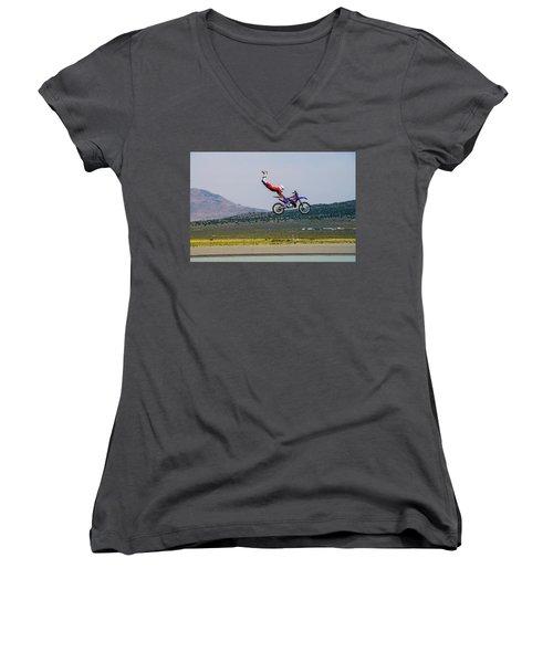 Don't Let Go Women's V-Neck T-Shirt