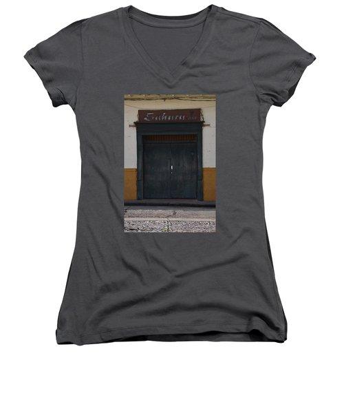 Door # 2 Women's V-Neck T-Shirt