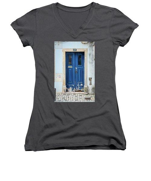 Door No 67 Women's V-Neck T-Shirt
