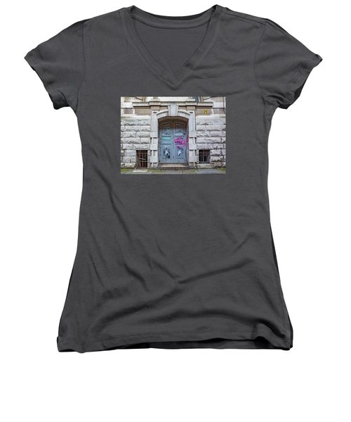 Doors Women's V-Neck (Athletic Fit)