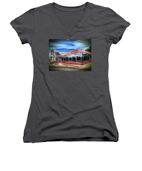 Double T Diner Women's V-Neck