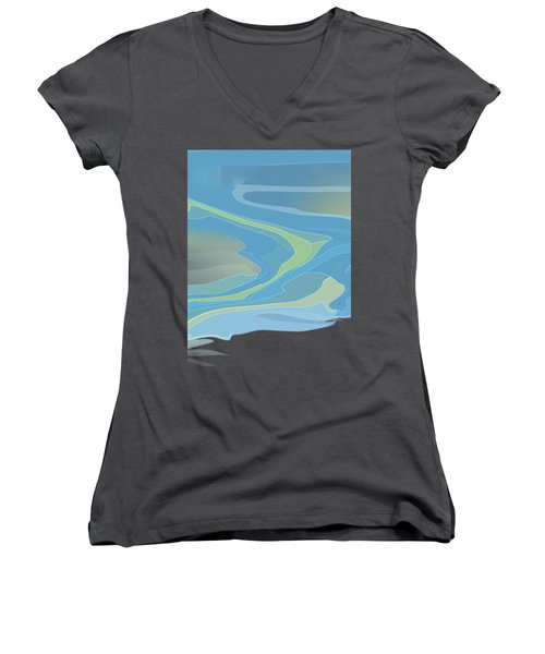 Downstream Women's V-Neck