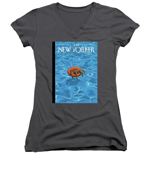 Downtime Women's V-Neck