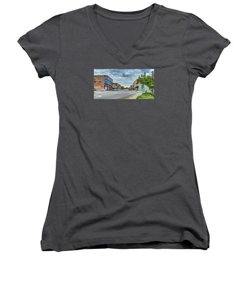 Downtown Hamlet Women's V-Neck