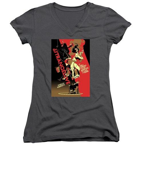 Dr. Strangelove Theatrical Poster Number One 1964 Women's V-Neck