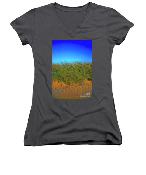 Drake's Island Beach Women's V-Neck