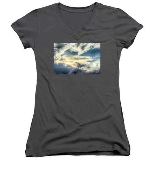 Drama Clouds Women's V-Neck