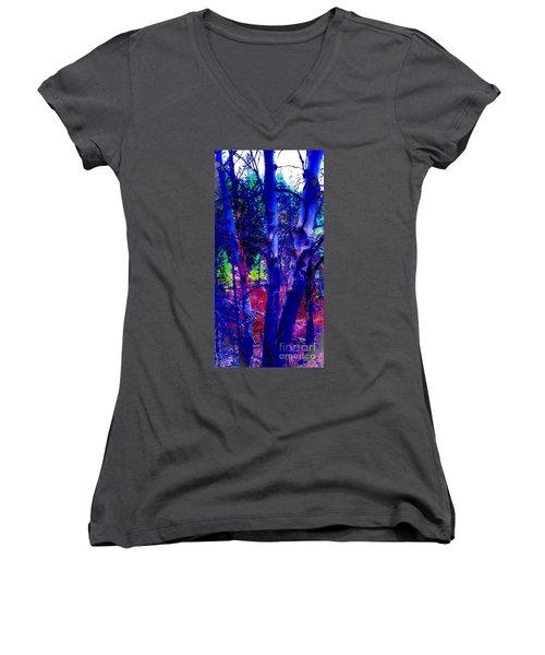 Dreaming Aspens Women's V-Neck T-Shirt (Junior Cut)