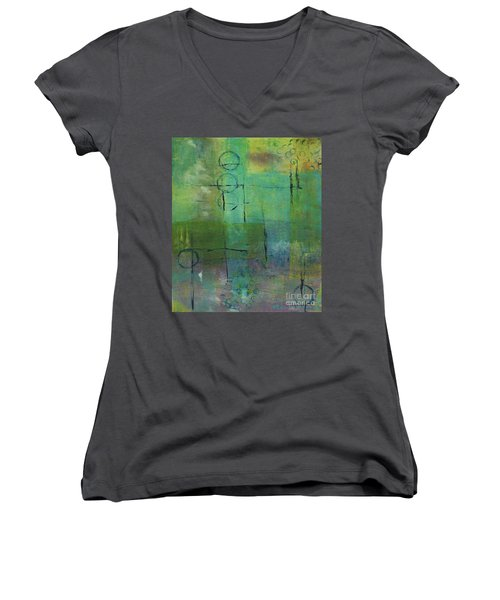 Dreaming Women's V-Neck (Athletic Fit)
