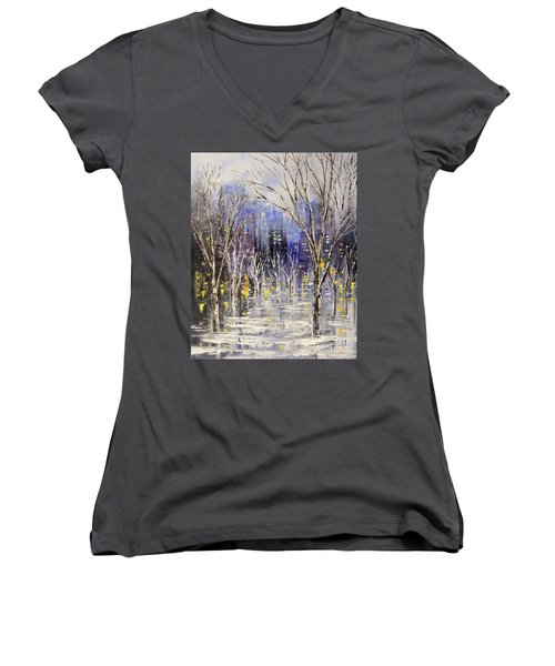 Dreamt Of Driving Women's V-Neck T-Shirt