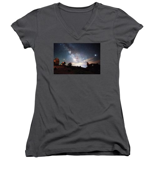 Dreamy Women's V-Neck (Athletic Fit)