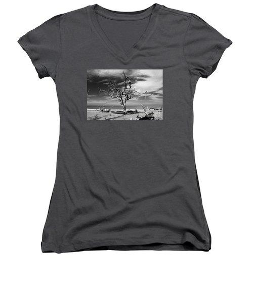 Driftin Women's V-Neck T-Shirt