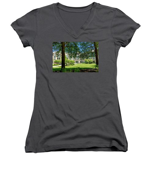 Driscoll Hall Women's V-Neck (Athletic Fit)