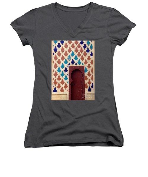 Dubai Doorway Women's V-Neck