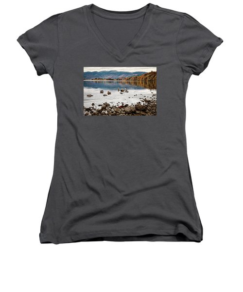 Ducks On Derwent Women's V-Neck