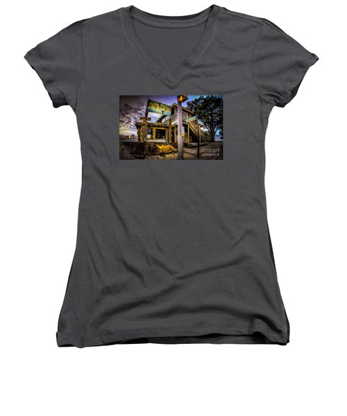 Duffy Street Seafood Shack Women's V-Neck