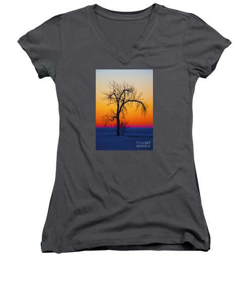 Dusk Surreal.. Women's V-Neck
