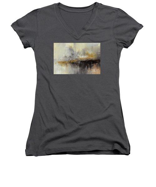 Dusty Mirage Women's V-Neck T-Shirt