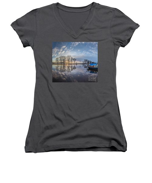Dutch Delight-4 Women's V-Neck T-Shirt