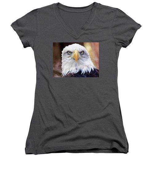 Eagle Eyes Women's V-Neck