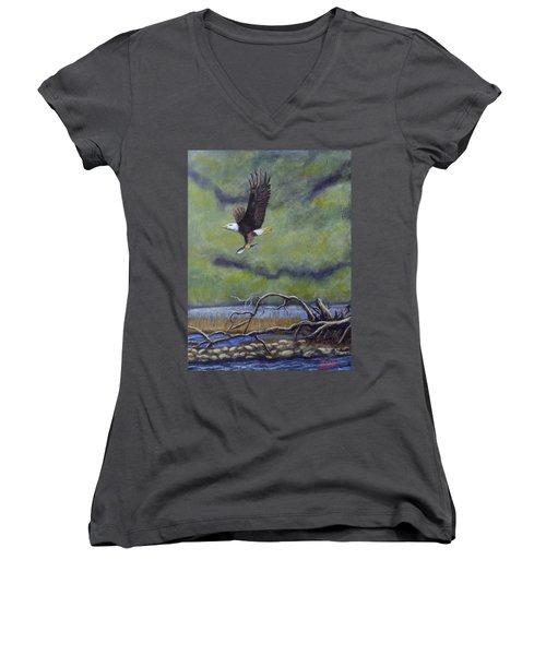 Eagle River Women's V-Neck