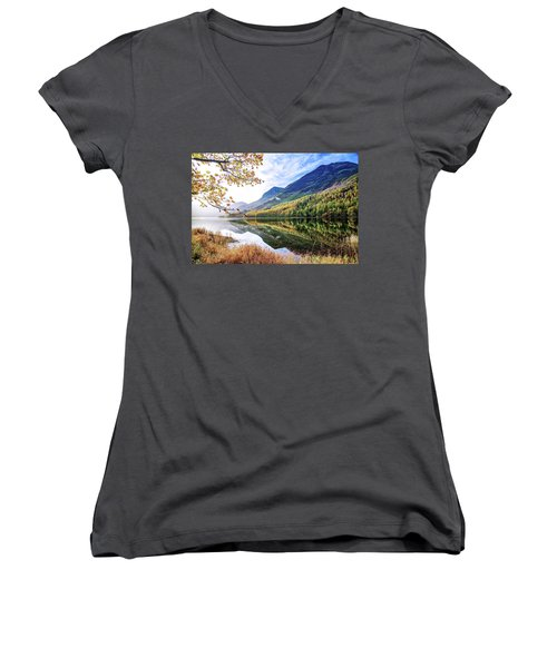 Early Morning Buttermere Women's V-Neck (Athletic Fit)