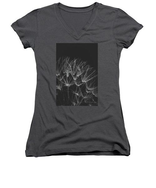 Early Morning Rituals Women's V-Neck T-Shirt (Junior Cut) by Yvette Van Teeffelen