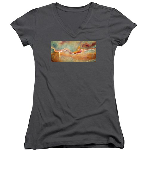 Earth Portrait 001-98 Women's V-Neck