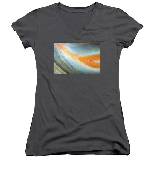 Earth Portrait 092 Women's V-Neck