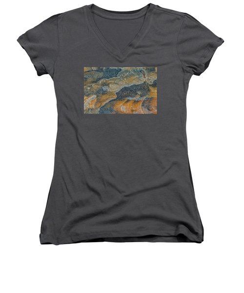 Earth Portrait 283 Women's V-Neck