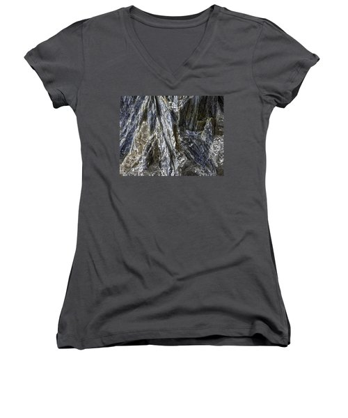 Earth Portrait Kyanite 001-089 Women's V-Neck