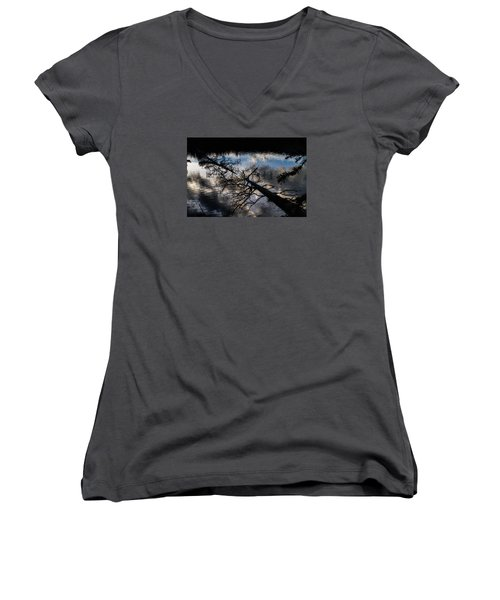 Earth To Water Women's V-Neck T-Shirt