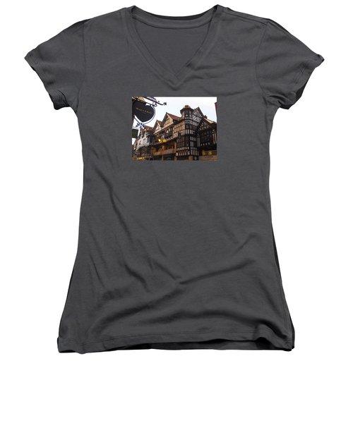 East Gate Women's V-Neck T-Shirt