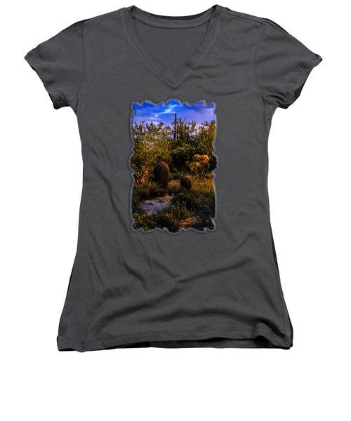 East Of Sunset V40 Women's V-Neck T-Shirt