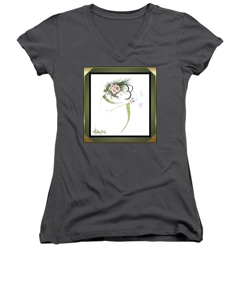 East Wind - Small Gathering 2 Women's V-Neck