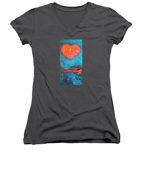 East Winds Women's V-Neck T-Shirt