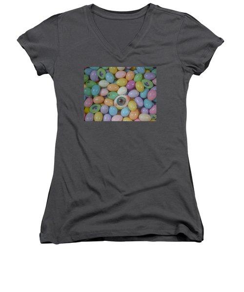 Easter Eyes Women's V-Neck T-Shirt