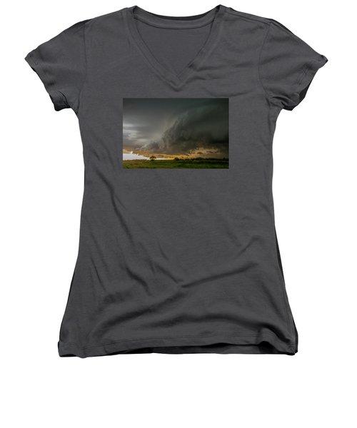 Eastern Nebraska Moderate Risk Chase Day Part 2 004 Women's V-Neck T-Shirt