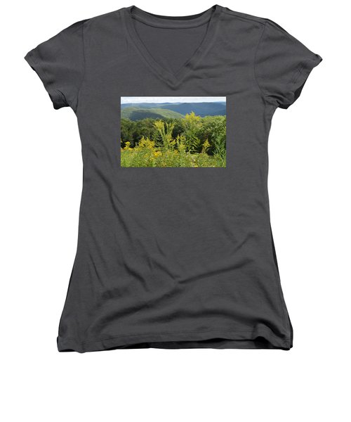 Eastern Summit 3 Women's V-Neck T-Shirt