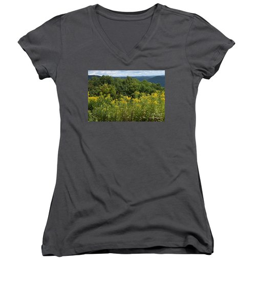 Eastern Summit 5 Women's V-Neck T-Shirt
