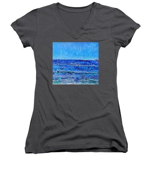 Ebbing Tide Women's V-Neck T-Shirt