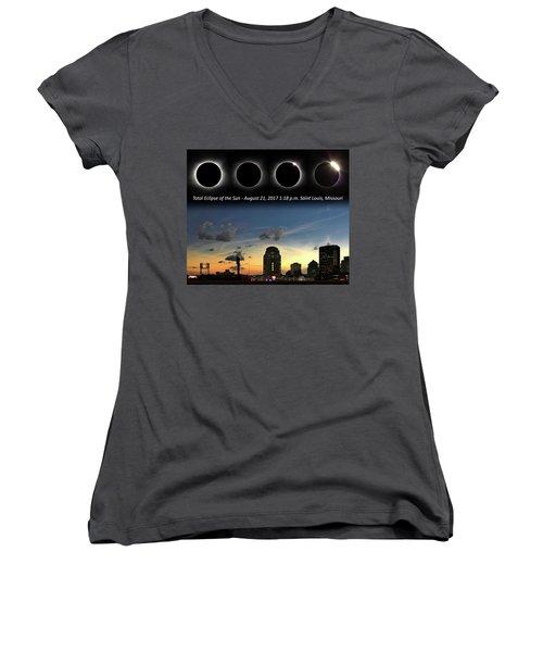 Eclipse - St Louis Women's V-Neck