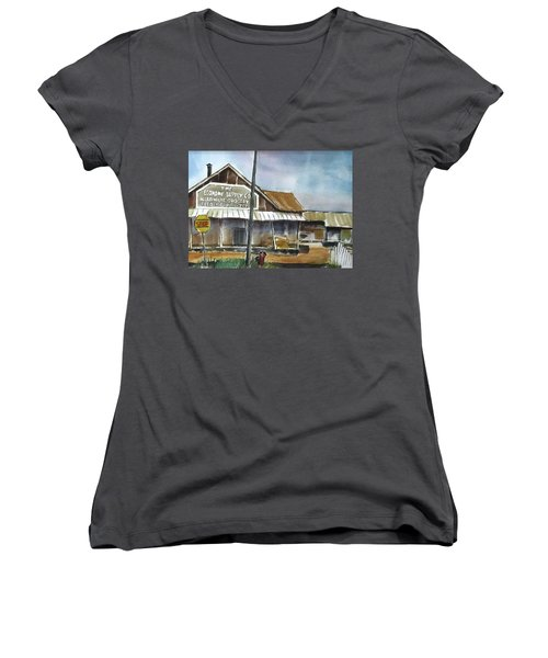 Economy Supply Women's V-Neck T-Shirt