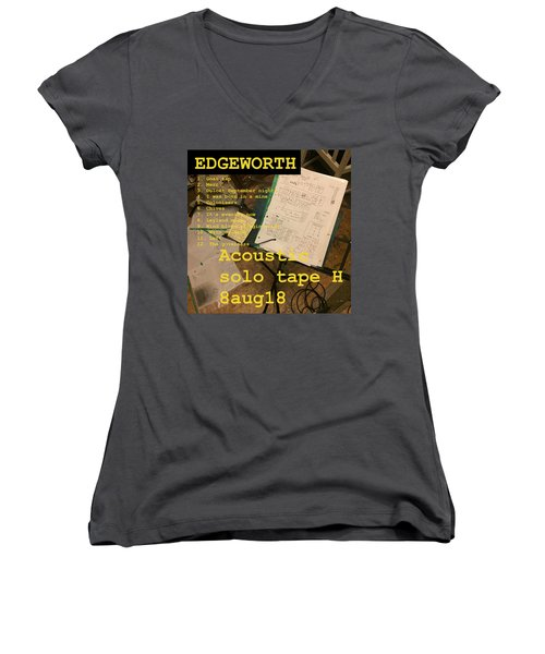 Edgeworth Acoustic Solo Tape H Women's V-Neck